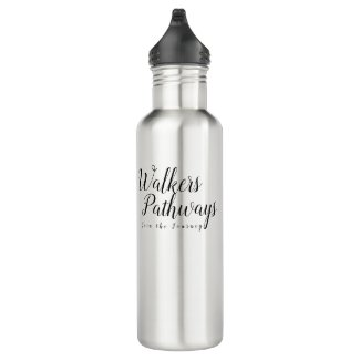 Walkers Pathways Exercise Stainless Steel Water Bottle