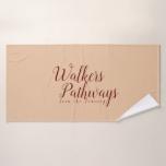 Walkers Pathways Join the Journey Bath Towel