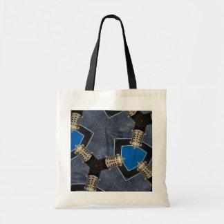 Walkie-Talkie Kaleidoscope Canvas Bags