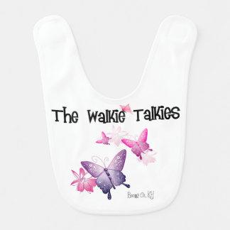 Walkie Talkies Baby Bib