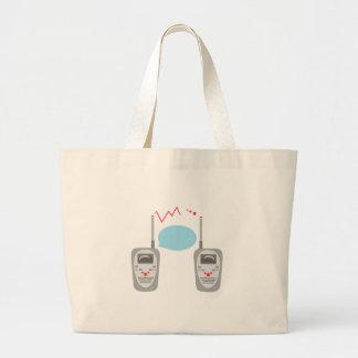 Walkie Talkies Tote Bag