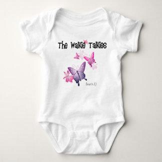 Walkie Talkies Onsie (Light Colors) Baby Bodysuit