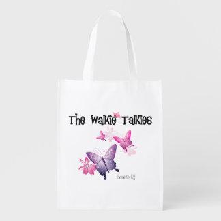 Walkie Talkies Reusable Bag Grocery Bag