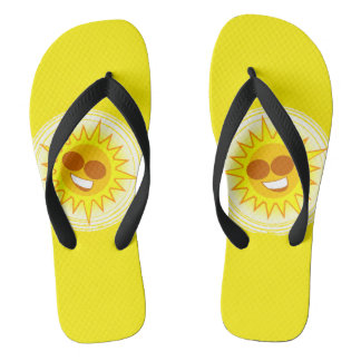 Walkin on Sunshine Flip Flops