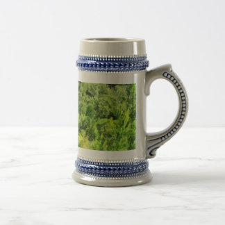 Walking a lonely path beer stein