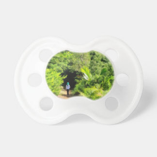 Walking a lonely path pacifier