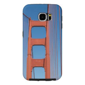 Walking Across the Golden Gate Bridge Samsung Galaxy S6 Cases