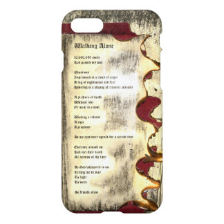 Walking Alone iPhone 7 Case