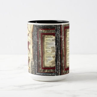 Walking Alone Two-Tone Coffee Mug