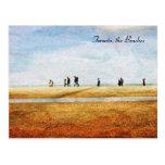 walking along lake Ontario - Toronto, the Beaches Postcard
