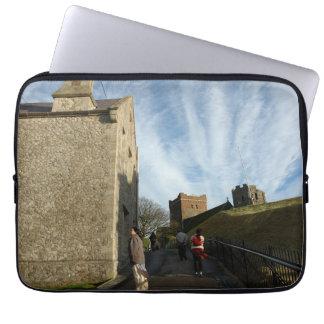 Walking around heritage buildings in Dover Computer Sleeves