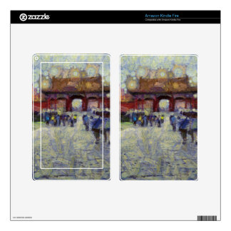 Walking around the Forbidden City Kindle Fire Skin