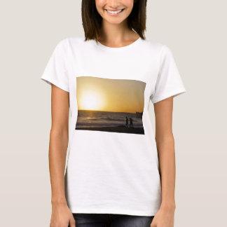 Walking at Sunset T-Shirt
