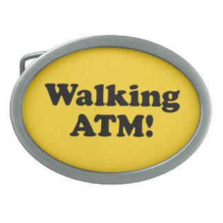 Walking ATM! Belt Buckle
