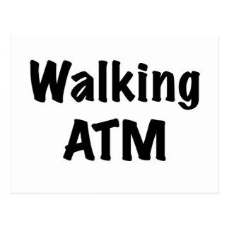 Walking ATM Postcard