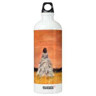 Walking Away with Dignity Aluminum Water Bottle
