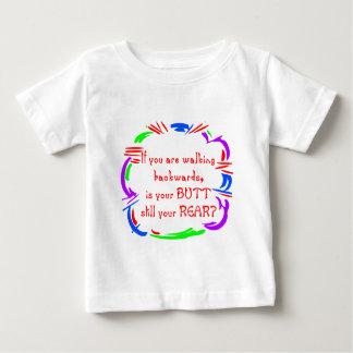 Walking Backward Baby T-Shirt