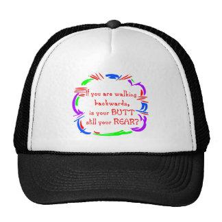 Walking Backward Hat