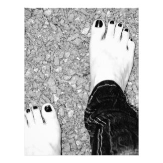Walking Barefoot Letterhead