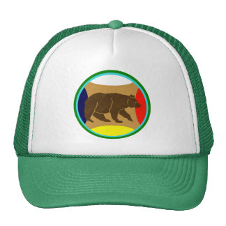 Walking Bear Trucker Hat