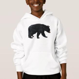 Walking Black Bear Animal Lover Hoodie