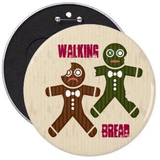 Walking Bread Button