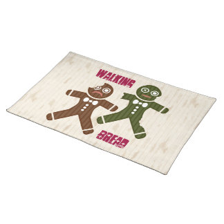 Walking Bread Cloth Placemat