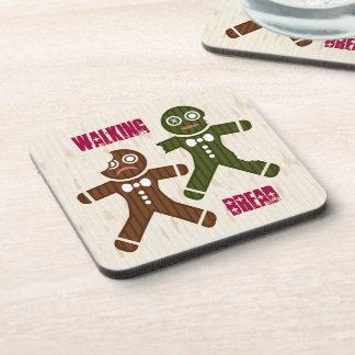 Walking Bread Drink Coaster