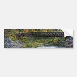 Walking Bridge Bumper Sticker