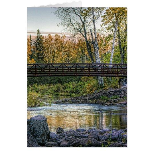 Walking Bridge Card