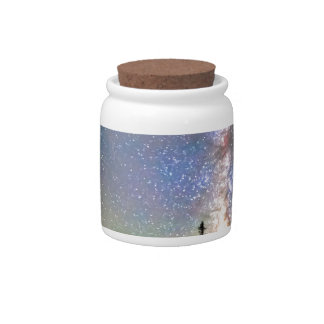 Walking Bridge to The Milky Way Candy Jars