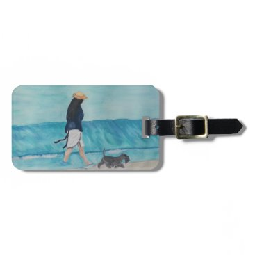 Beach Themed Walking Buddies Bag Tag