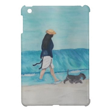 Beach Themed Walking Buddies Case For The iPad Mini