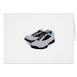 Walking Buddy Shoes Birthday Card