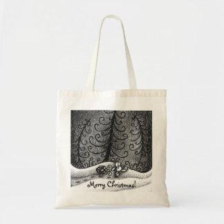 Walking Bunny Tote Bag