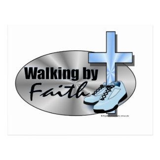 Walking by Faith Postcard