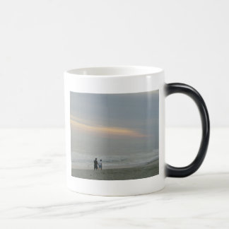 Walking by the Seaside Magic Mug