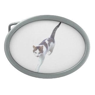 Walking Cat Belt Buckle