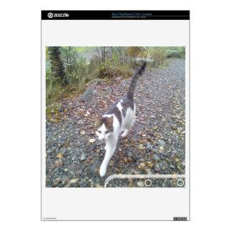 Walking cat skin for the PS3 slim
