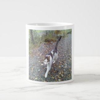 Walking Cat Extra Large Mugs