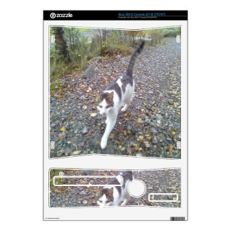 Walking Cat Xbox 360 S Decal