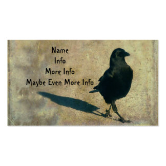 Walking Crow Business Card Template