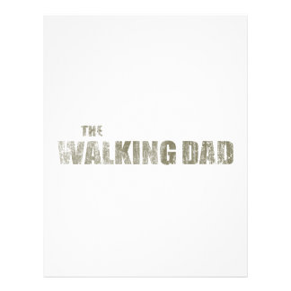 Walking Dad Letterhead