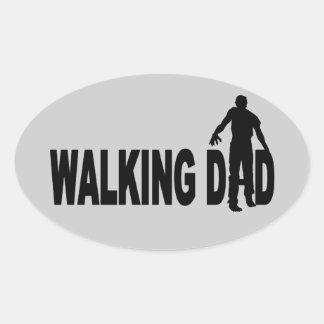 Walking Dad (zombie) Stickers