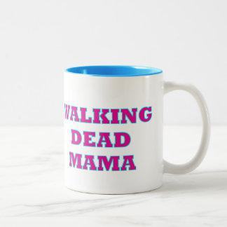 """Walking Dead MaMa"" Two-Tone Coffee Mug"