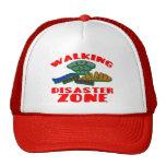 Walking Disaster Zone Mesh Hats