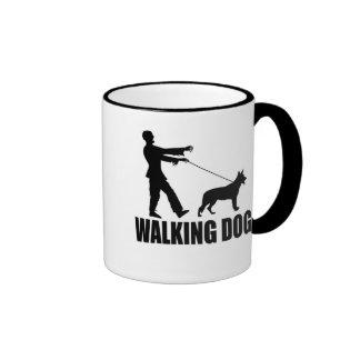 Walking Dog (zombies) Ringer Mug