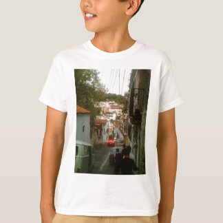 Walking down the mountain side in Taxco T-Shirt