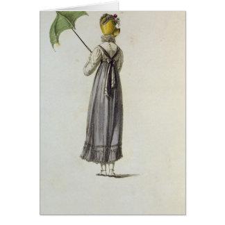Walking Dress, 1814 Card