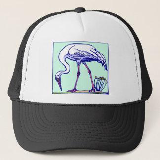 Walking Egret Trucker Hat